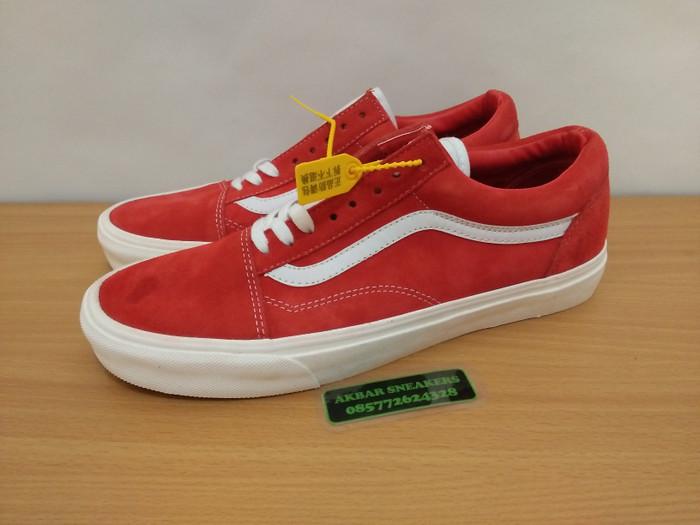 69956354e1 Jual Sepatu Vans Old Skool Vintage Rio Red - DKI Jakarta ...
