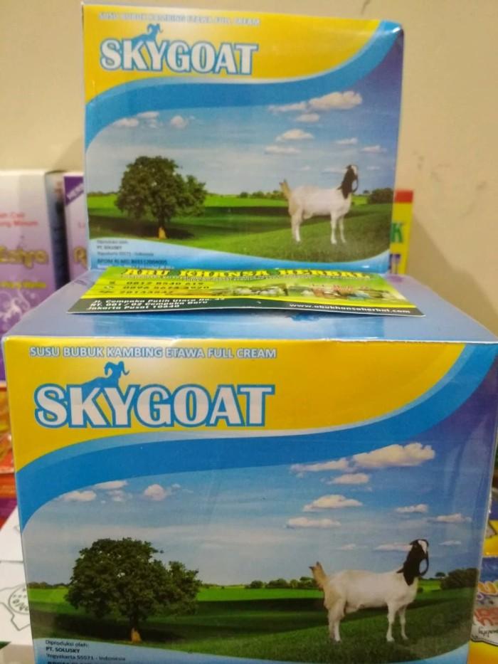 2 BOX susu kambing skygoat propolis ( 1 BOX isi 10 saset )