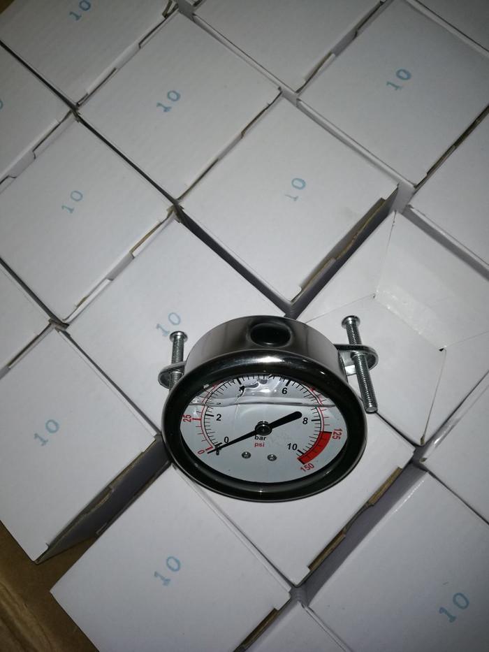 PG - Pressure Gauge 150 psi / 10Bar Drat belakang RO