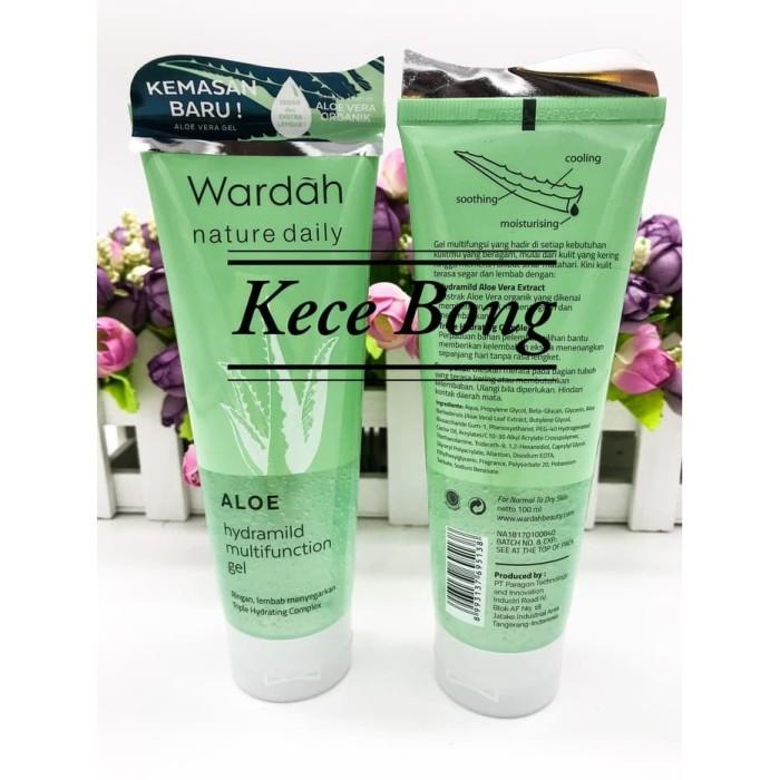 Katalog Wardah Hydrating Aloe Vera Travelbon.com