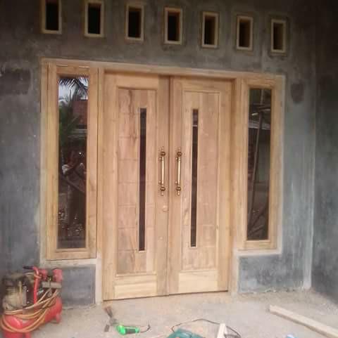 Contoh Gambar Detail Kusen Pintu Dan Jendela - Info ...