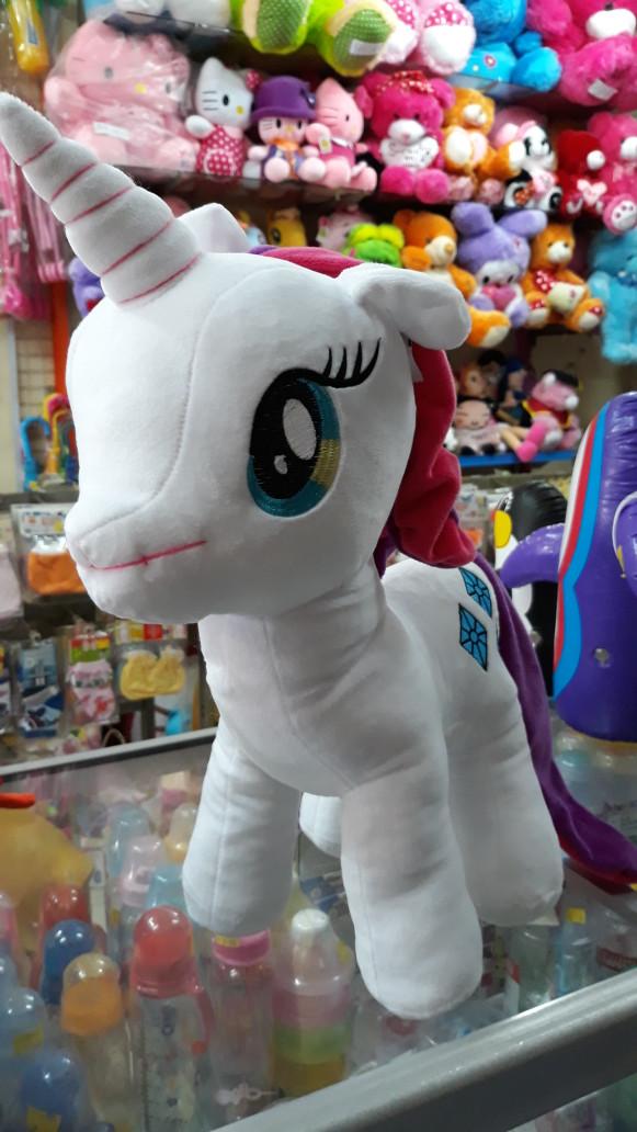Jual boneka kuda poni my little pony rarity putih unicorn besar cek ... 87d0711f45