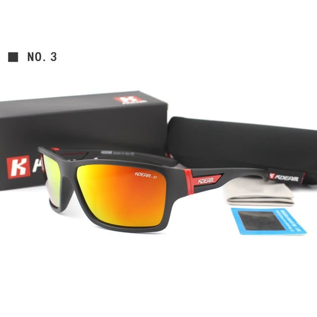 Jual Kdeam Kacamata Polarized Import Sunglasses - Kd510 - Hitam ... b92df181f4