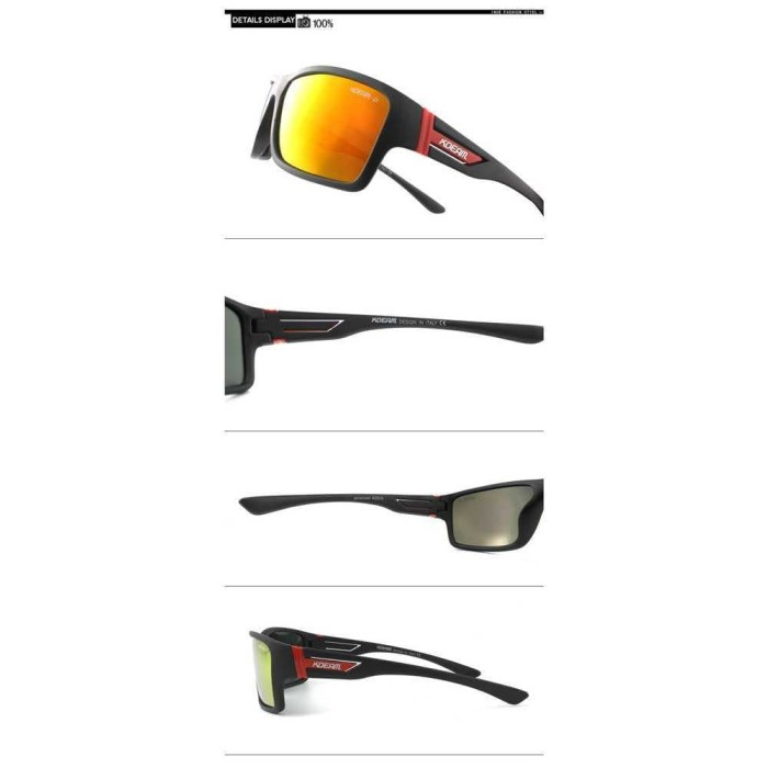 ... Kdeam Kacamata Polarized Import Sunglasses - Kd510 - Hitam - Blanja.com  ... 11edfe3073