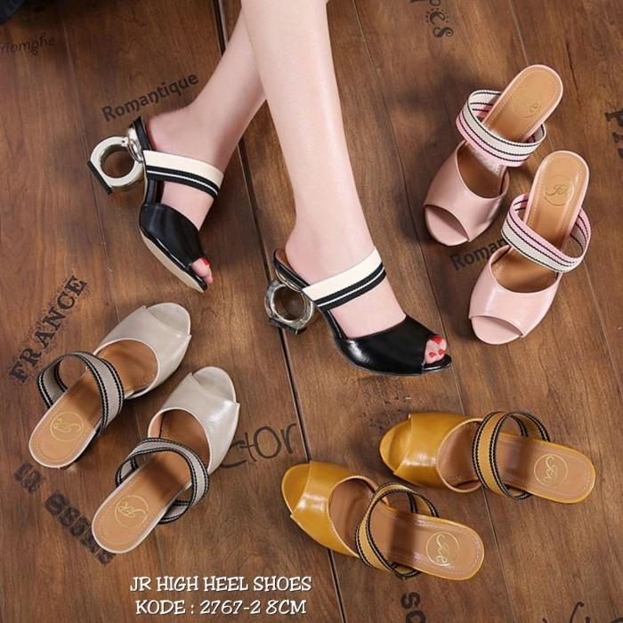 harga Jr high heel shoes 2767-2||sepatu wanita cantik|sepatu import murah Tokopedia.com