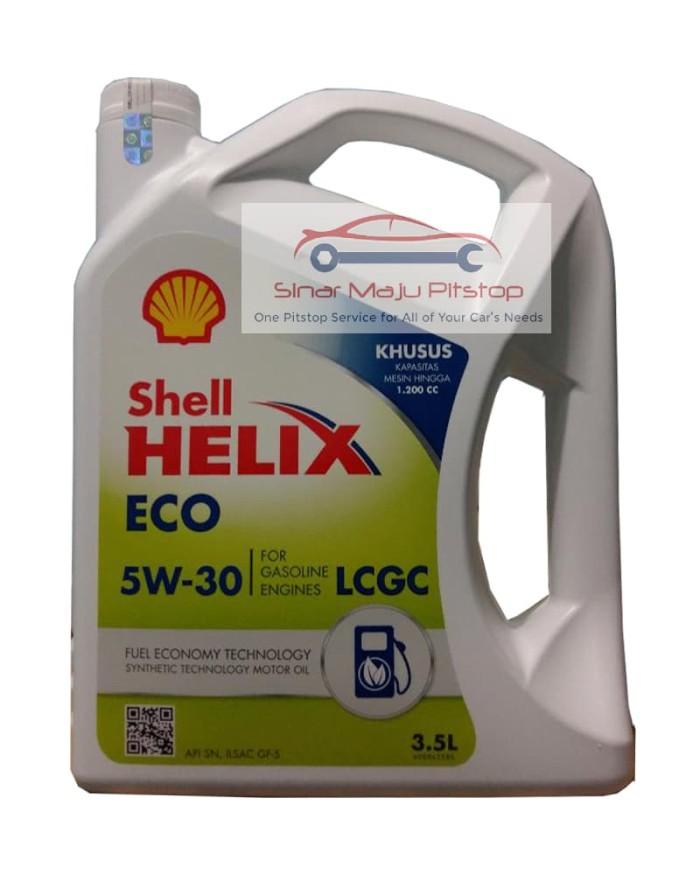 Jual Shell Helix Eco Synthetic 5w 30 Original Oli Mobil Honda Brio Satya Jakarta Barat Sinar Maju Pitstop Tokopedia