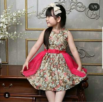 Jual Pakaian Batik Anak Perempuan Cek Harga Di Pricearea Com