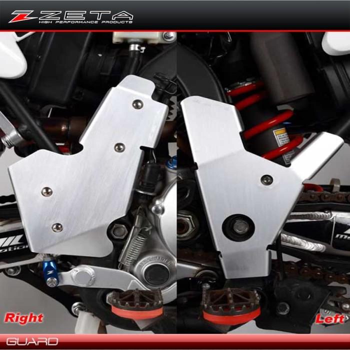 harga Zeta racing frame guard alumunium kawasaki d-tracker / klx 250 Tokopedia.com