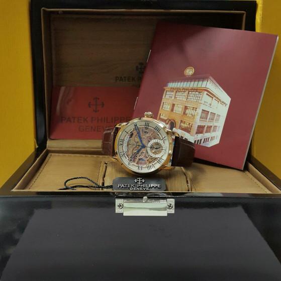 Jual Jam tangan Patek philippe kulit matic KW super - Arloji super ... 279f7739fd