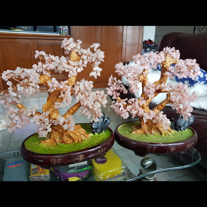Jual Pohon Bonsai Bunga Sakura Replika Pajangan Batu Alam Pot Bibit Acc Kota Bandung Toyserda Tokopedia