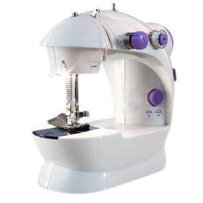 Promo Mesin Jahit Mini Portable Fhsm 202 Ada Lampu Mesin Jahit Ada