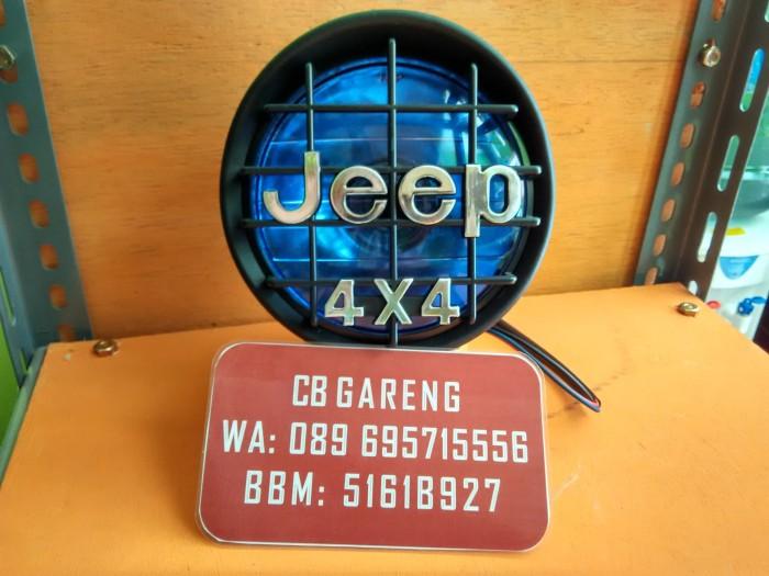 harga Headlamp jeep biru / lampu japstyle jeep biru Tokopedia.com