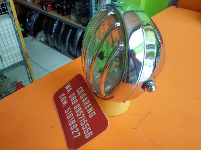harga Headlamp tralis chrome / lampu japstyle tralis chrome Tokopedia.com