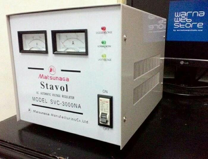 harga Stabilizer matsunaga 3000w stavol scv 3000n 3000 watt Tokopedia.com