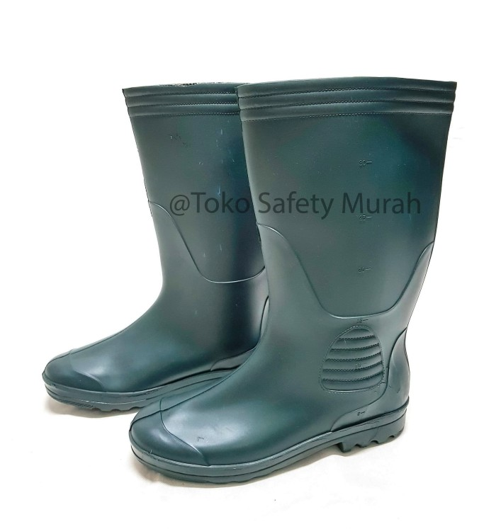 Jual Khusus Gojek Instant Courier Sepatu Boot Karet Hijau Forli