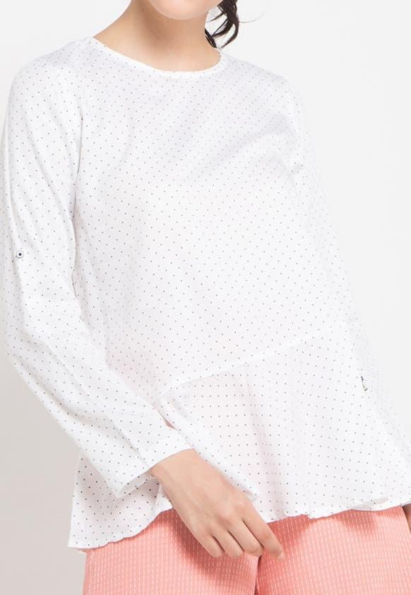 lois jeans original - blouse wanita kc492wh