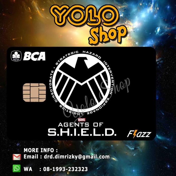 harga Kartu flazz bca custom - agents of shield Tokopedia.com