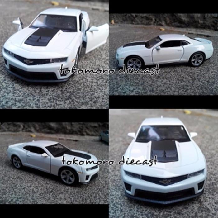 Jual Terbaru Tokomoro Chevrolet Camaro Putih Miniatur Mobil Jual