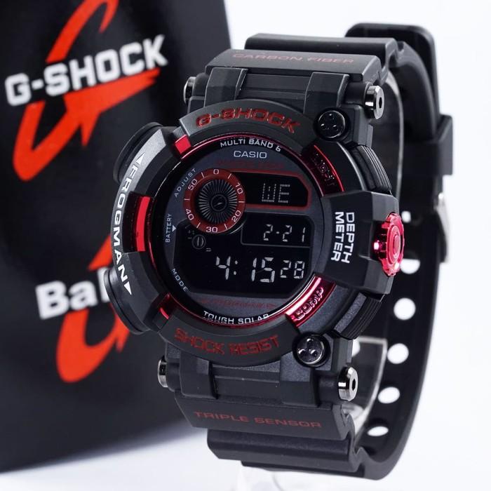 Jual Jam G-Shock Frogman KW Black Red GWF-1000 - TOKONYA DISINI ... 1003ed7c2c