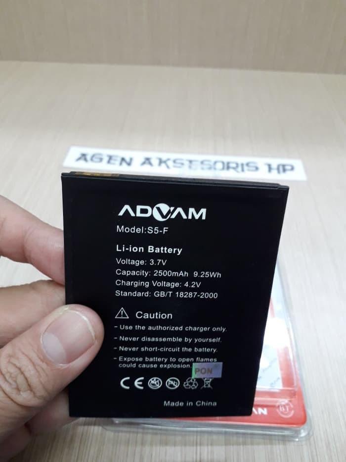 Baterai ADVAN S5F Batre Advan S5-F ORIGINAL 2 IC Battery 2500mAh