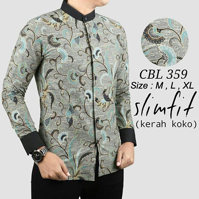 62 Gaya Baju Batik Pria Model Koko Paling Hist