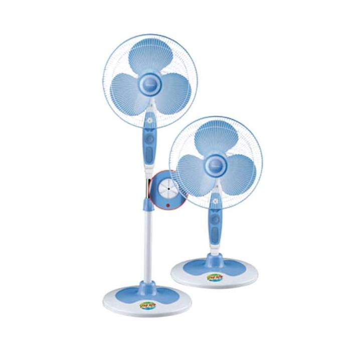 harga Miyako kipas angin kas 1629 kb / stand fan 1629kb - biru - [16inch] Tokopedia.com