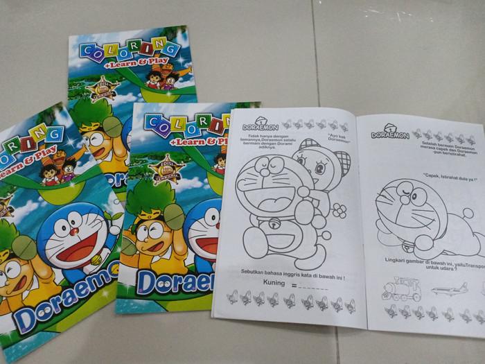 Jual Buku Mewarnai Doraemon E Kidsstuff Tokopedia