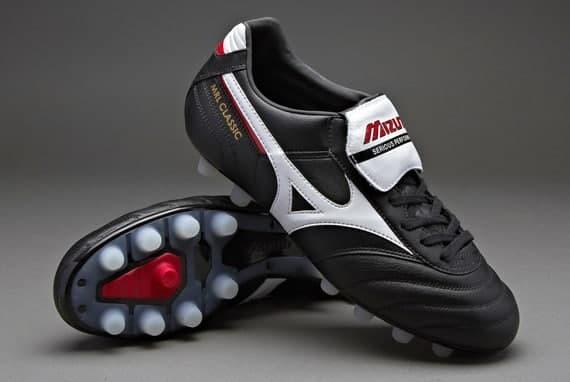 Jual Sepatu Bola Mizuno original Morelia Classic MD Black 12KP97401 ... ef9b82bd36