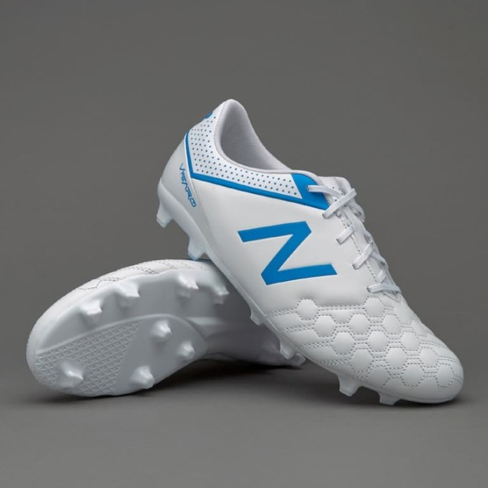 best website a0367 1e031 Sepatu bola New Balance Visaro 1.0 Liga Full Grain FG White MSVFFWB