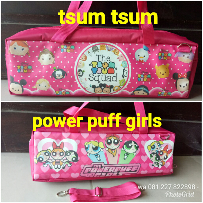 harga Tas pianika tsum tsum / power puff girls Tokopedia.com