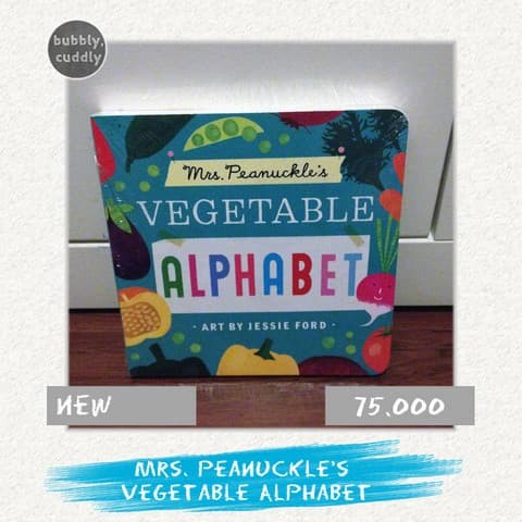 mrs peanuckles vegetable alphabet mrs peanuckles alphabet library