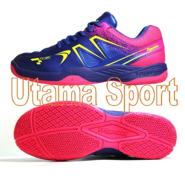 Jual Sepatu Badminton   Bulutangkis Flypower Plaosan 5 Royal Blue ... 5b1e0c1548