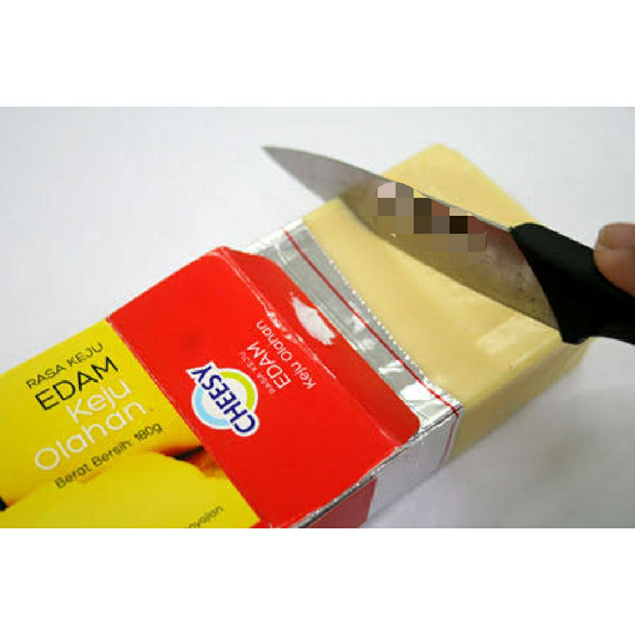 Foto Produk Keju cheesy flavours of edam REPACK 500GRAM dari Just Me Shop