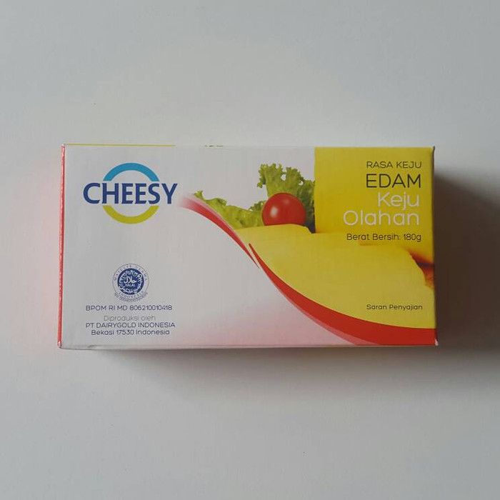 Foto Produk Keju cheesy rasa edam 170gram dari Just Me Shop