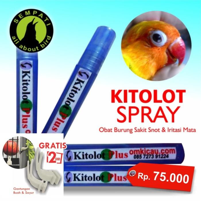 harga Kitolot plus cair spray om kicau obat burung sakit mata katarak radang Tokopedia.com