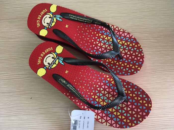 harga Sandal set surfer girl perempuan / sandal jepit santai remaja dewasa Tokopedia.com