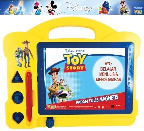 harga Mainan anak papan tulis frozen princess dory magnetic learning case Tokopedia.com
