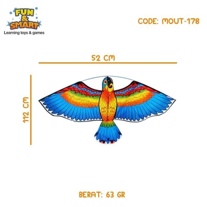 Jual Sale Mainan Layang Karakter Burung Hantu Besar Mout 178