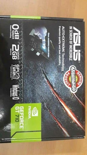 VGA Card Asus Geforce GT710 2 GB DDR3 PCI E Diskon