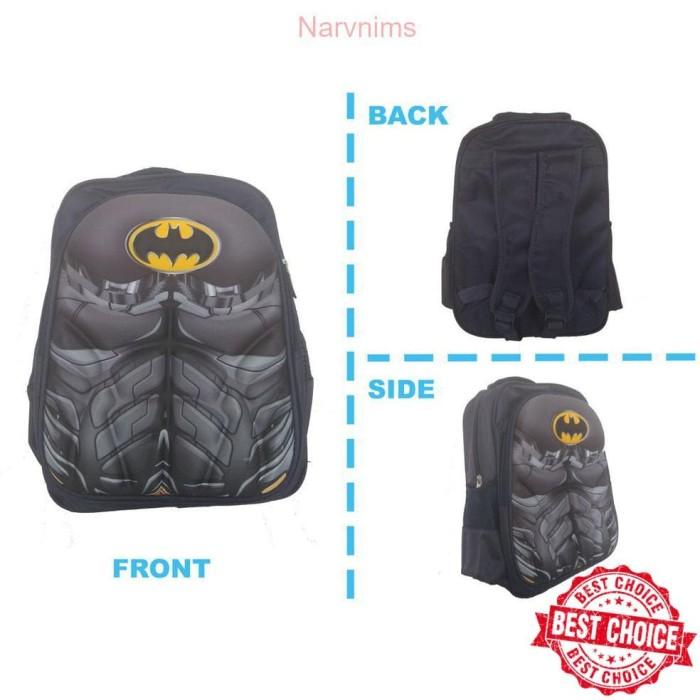 Jual Tas Anak Sekolah Ransel SD import - Batman- Spiderman - Iron ... 2b7633ba33