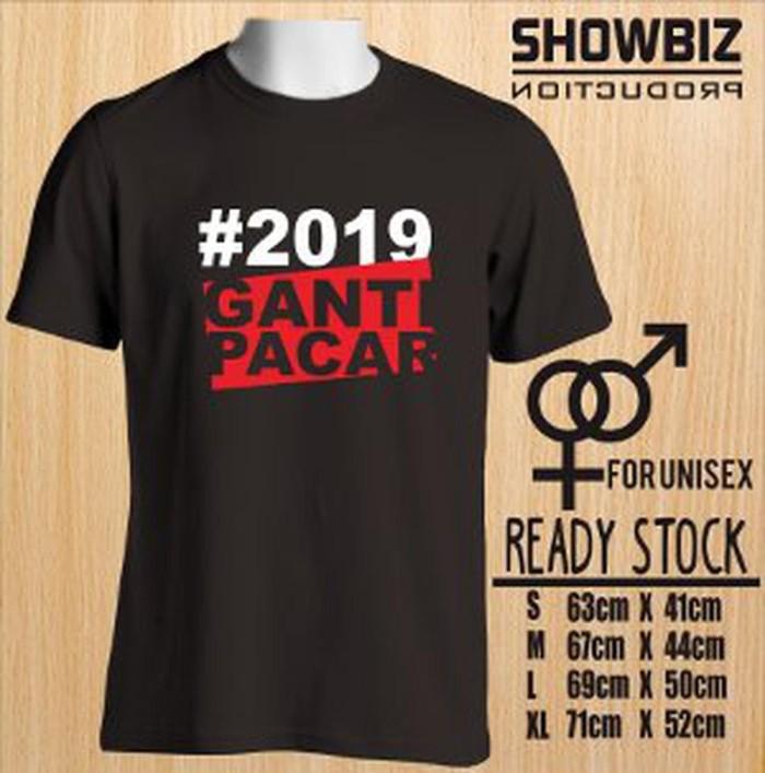 Jual Kaos Ganti Pacar T Shirt Distro Plesetan 2019 Ganti Presiden