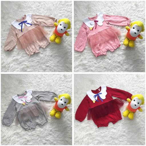 harga Mi angel baju jumper panjang romper tutu anak bayi perempuan angsa Tokopedia.com