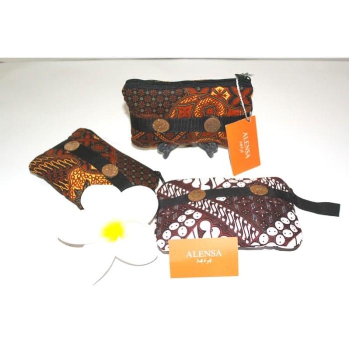 harga Souvenir dompet batik dengan 2 kancing batok Tokopedia.com