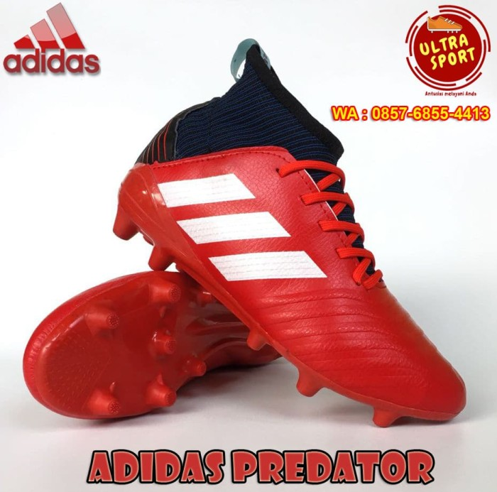 harga Sepatu bola dewasa adidas predator 18 plus fg - core green/ white Tokopedia.com