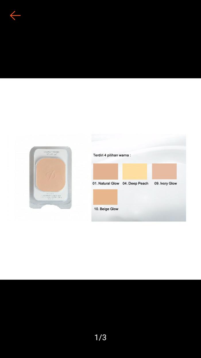 Jual Original Bedak Padat Inez Compact Powder Refill Isi Ulang Ready Face 4