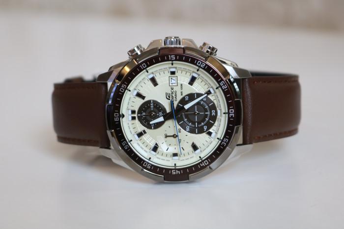 harga Jam tangan pria casio edifice efr-539l dark brown original bm Tokopedia.com