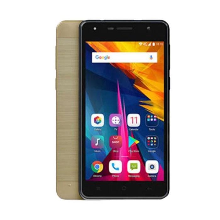 polytron rocket t6 r 2509se smartphone - gold [16gb/ 1gb] - emas