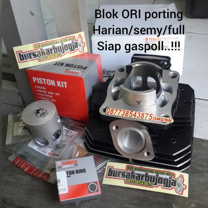 harga Blok rx king porting ori yamaha resmi Tokopedia.com