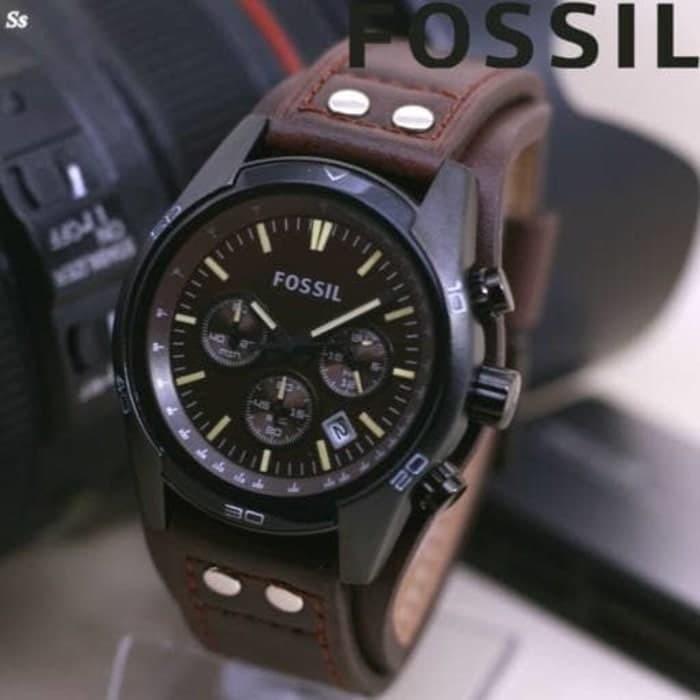 Jam Tangan Pria Fossil CB5 Leather