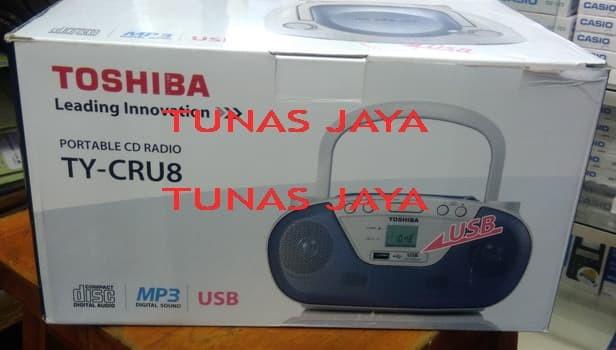 harga Toshiba ty-cru8 ty cru 8 cd mp3 usb radio am fm original Tokopedia.com
